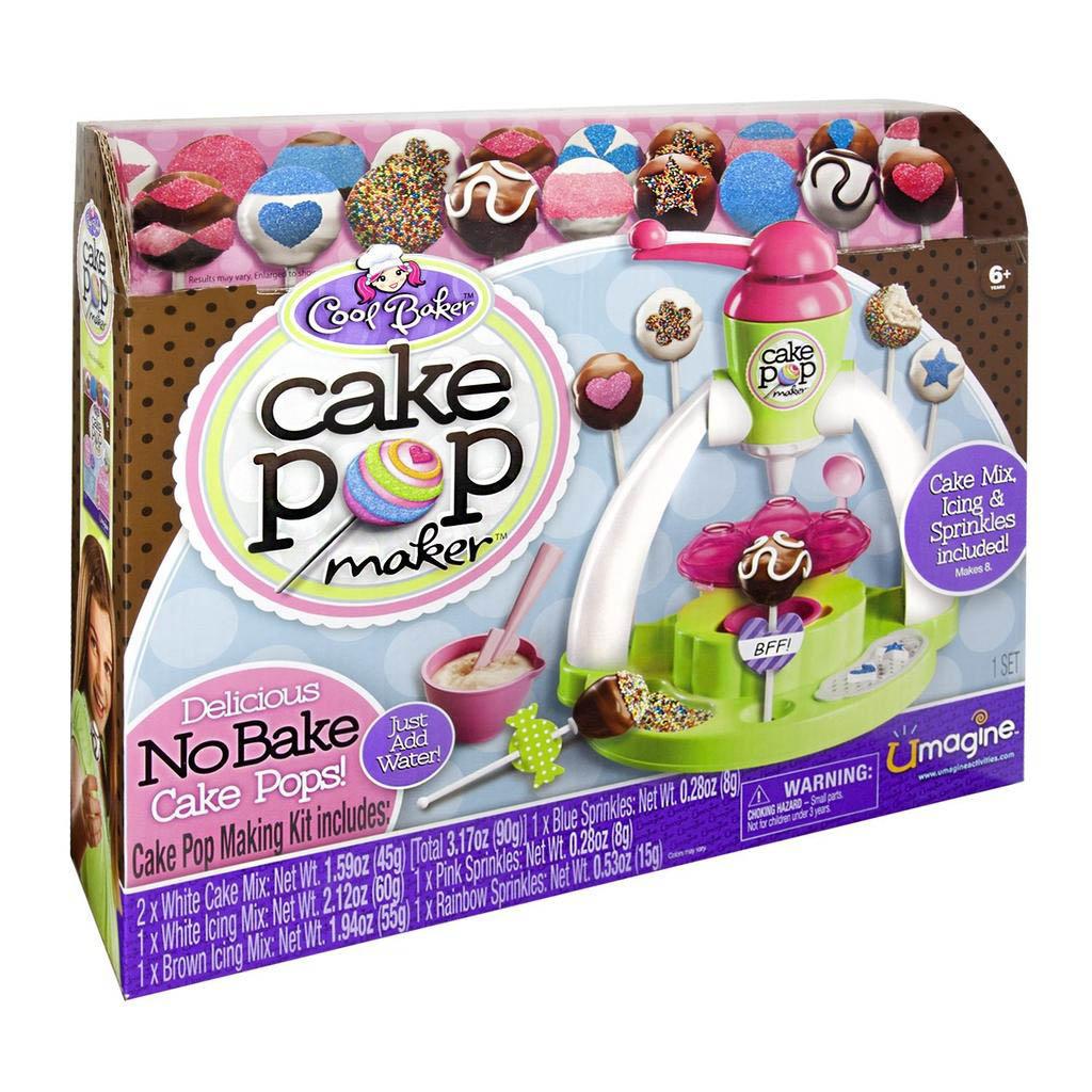 Cool Baker Cake Pop Maker Mix