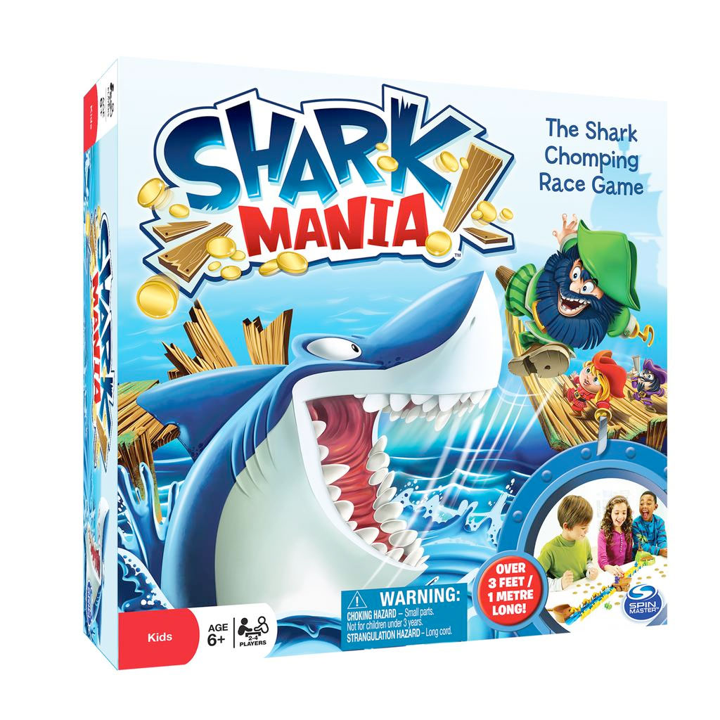 Spin Master - Spin Master Games Shark Mania Board Game