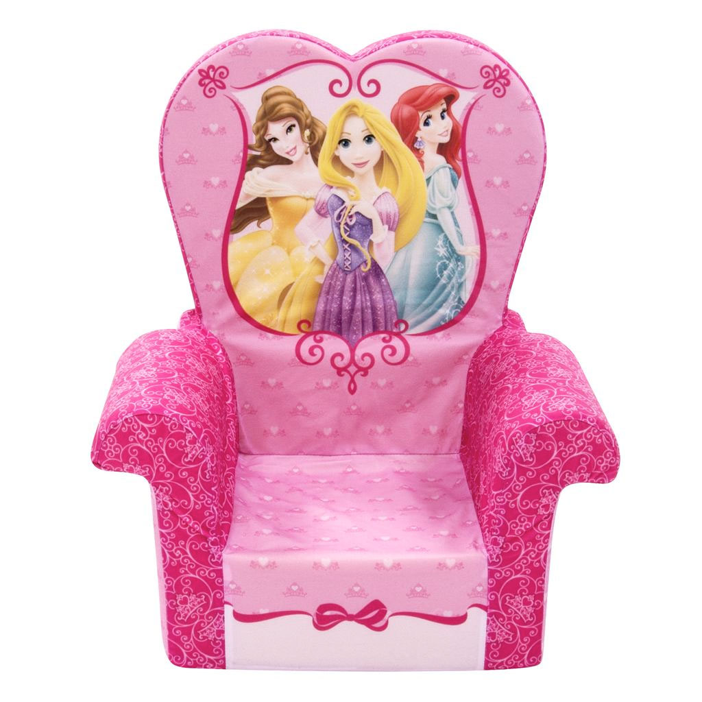 Disney Princess Armchair: Marshmallow Furniture High Back Chair Disney
