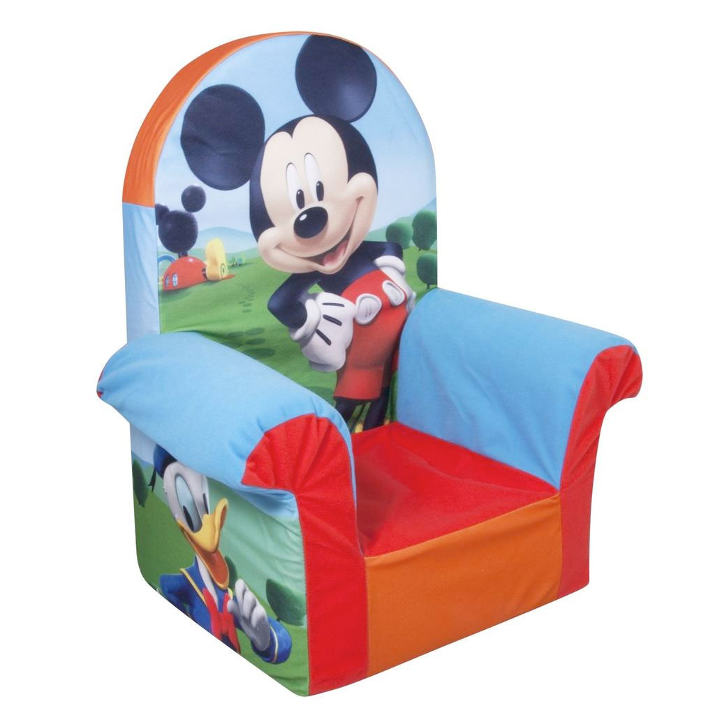 spin master marshmallow furniture high back chair mickey