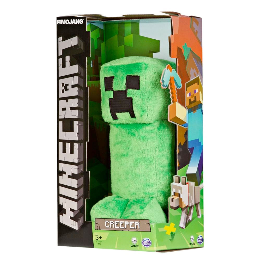 Walmart Minecraft Toys For Boys : Spin master minecraft plush creeper us