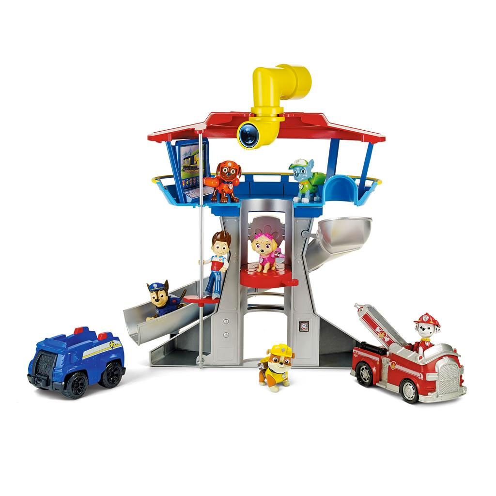 Spin Master Paw Patrol Paw Patrol Deluxe Look Out Playset