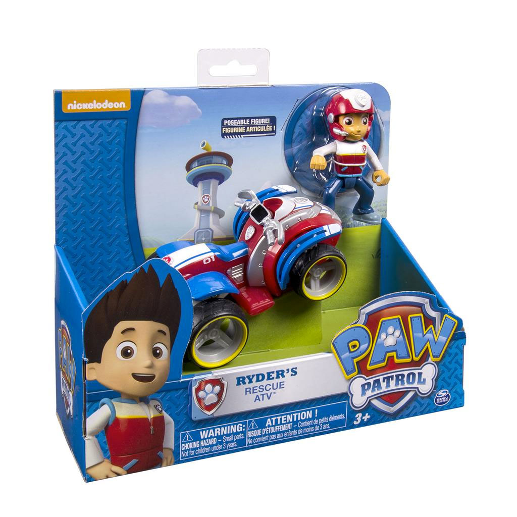 spin master paw patrol paw patrol ryder 39 s rescue atv us. Black Bedroom Furniture Sets. Home Design Ideas
