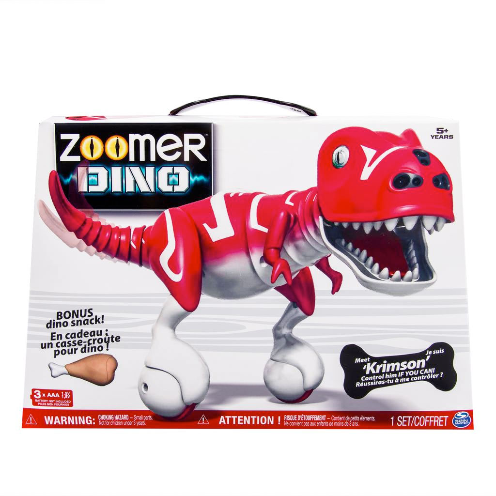 Spin master zoomer zoomer dino krimson kohl s exclusive us